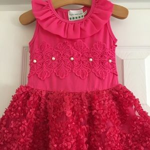 Other - Girls boutique dress - size 2t